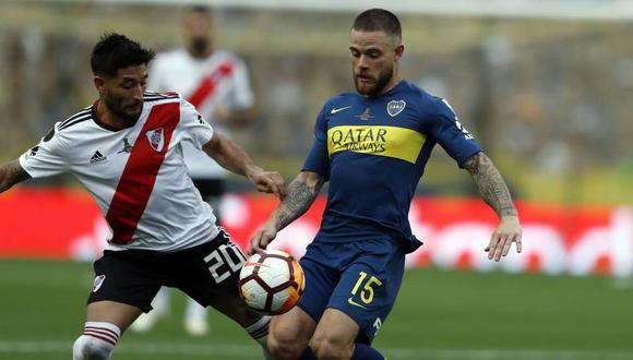 Boca Juniors igualó en casa 2-2 ante River Plate en un atractivo encuentro jugado en La Bombonera. No cuenta el gol de visita en esta definición. (Foto: GrupoAgenhoy)