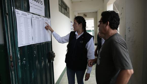 La salida es garantizar, como un mínimo indispensable, elecciones internas de todos los partidos para el próximo año, organizadas por la ONPE. (Foto: GEC)