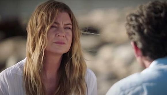 Meredith habla con Derek sobre la posibilidad de dejar a sus hijos y cómo eso les afectaría (Foto: ABC)