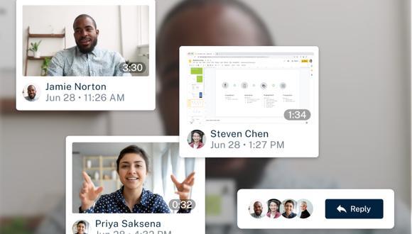 Google acaba de lanzar Threadit, una herramienta muy parecida a TikTok que busca mejorar la comunicación entre los trabajadores de empresas. (Foto: Threadit/ Composición: El Comercio)