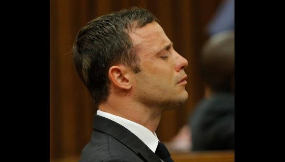 Oscar Pistorius se libró de la cadena perpetua