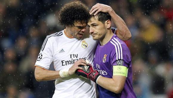 Pepe es el único 'aliado' de Iker Casillas en el Real Madrid