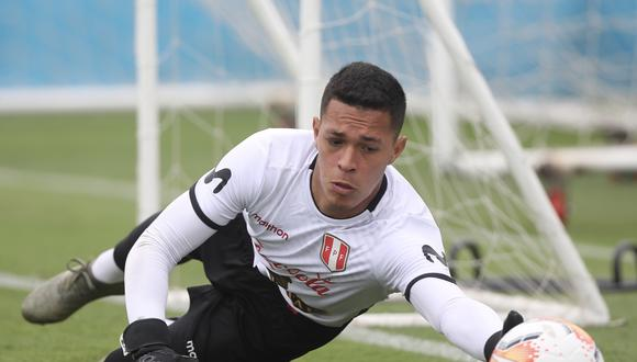 Renato Solís jugó en la selección peruana Sub 15 de 2013 y Sub 23 de 2020. (Foto: Twitter / @SeleccionPeru)