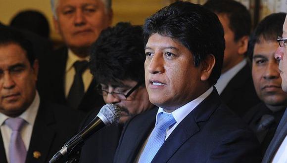 """Josué Gutiérrez dijo que el Partido Aprista apoyó el golpe de estado contra Bustamante y Rivero en 1947. """"El aprismo boicoteaba constantemente la función legislativa"""", refirió. (Foto: Congreso)"""