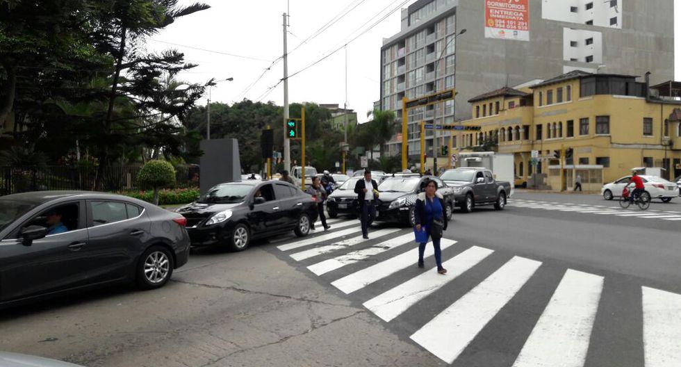 Alcaldes de San Isidro y de Lima entraron en polémica por posible construcción de by-pass en esta zona. (Foto: Jorge Malpartida / El Comercio)