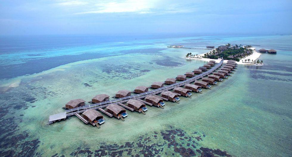 Maldivas es un sueño para todos los amantes de la playa y ahora también para los que buscan proteger el medio ambiente. El hotel Finolhu Villas no es solo moderno sino amigable con el planeta al funcionar utilizando únicamente energía solar. (Foto: yyany.com)
