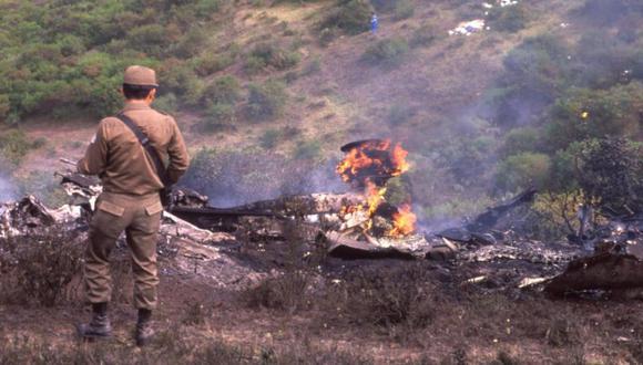 El atentado terrorista de hace 30 años contra un avión de Avianca dejó 107 muertos. El extinto capo Pablo Escobar dio la orden de cometer el ataque. (Foto: Archivo / EL TIEMPO).