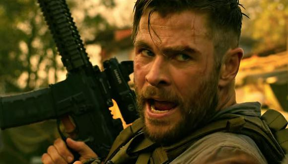 """El director Sam Hargrave contó algunas cosas sobre el final de """"Extraction"""", la nueva película de Chris Hemsworth (Foto: Netflix)"""