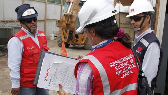 La Sunafil formalizó más trabajadores que los años 2020 y 2019. (Foto: GEC)