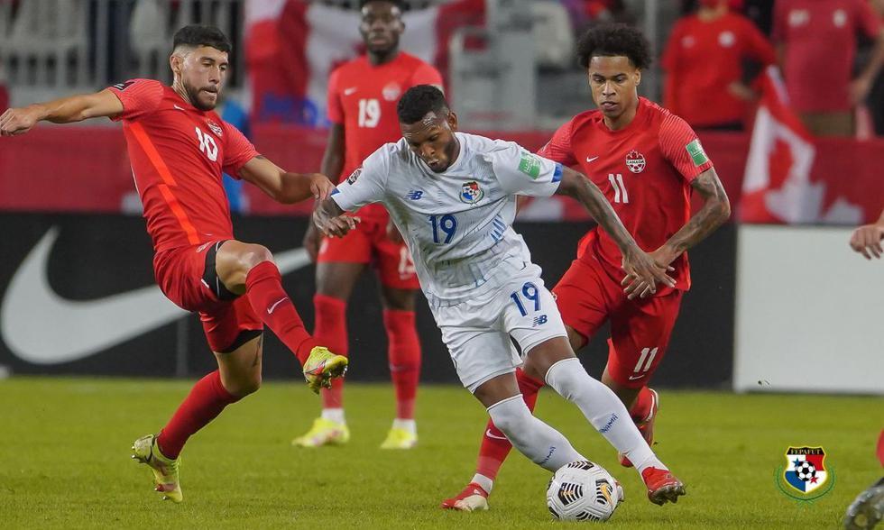 Panamá visitó a Canadá por las Eliminatorias Concacaf rumbo a Qatar 2022   Foto: @fepafut