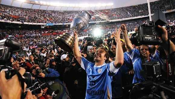 La selección de uruguay es la selección más ganadora de la Copa América con 15 títulos. (Gettty).