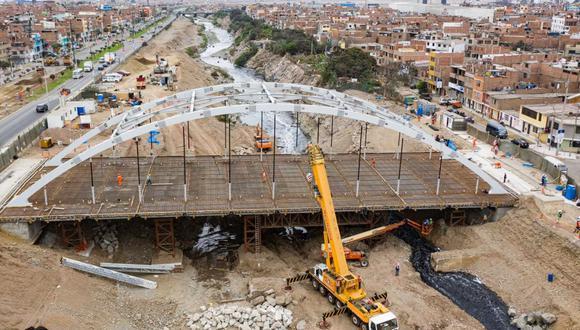 Esta obra tiene una inversión de más de S/33 millones y beneficiará a 100 mil habitantes. (Foto: Municipalidad de Lima)