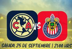 América vs Chivas en vivo: hora del clásico nacional y dónde ver el partido