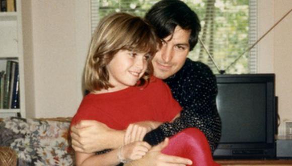 Conforme pasaron los años, Lisa Brennan-Jobs y su padre Steve Jobs pasaron más tiempo juntos. (Foto: GROVE ATLANTIC)