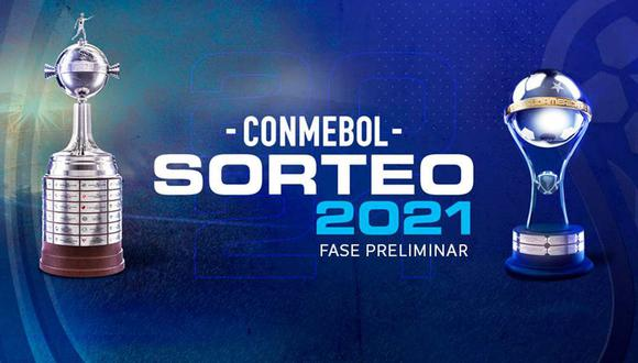Copa Libertadores y Copa Sudamericana: conoce los emparejamientos de los torneos continentales