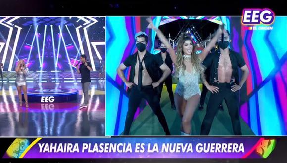 """Yahaira Plasencia regresó a """"Esto es guerra"""" como competidora. (Foto: Captura América TV)"""