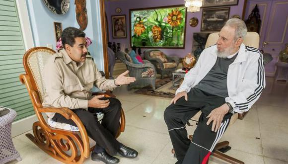 La carta de Fidel Castro a Maduro tras la derrota del chavismo