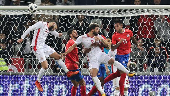 Costa Rica perdió 1-0 contra Túnez en amistoso FIFA. (Foto: Agencias)