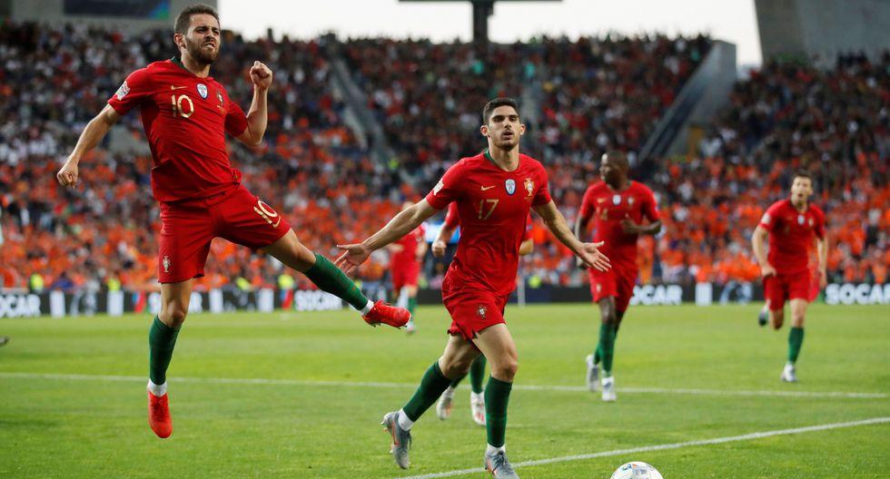 Portugal vs. Holanda EN VIVO: Guedes marcó el 1-0 con potente remate en final de UEFA Nations League | VIDEO. (Video: YouTube / Foto: AFP)