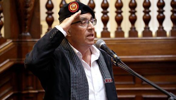 El vocero de Alianza Para el Progreso, César Vásquez, descartó que se esté blindando a su colega Edwin Donayre. (Foto: Congreso de la República)