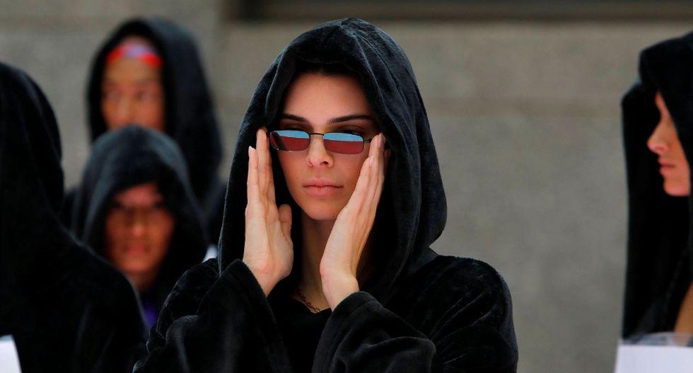 Kendall Jenner compartió la foto en Instagram hace unos días. (Fotos: Reuters | Composición hecha por EC con una foto de Reuters y una imagen de Marvel)