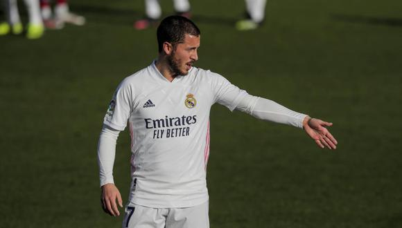 Real Madrid debería vender a Eden Hazard, sugirió Dimitar Berbatov. (Foto: AP)