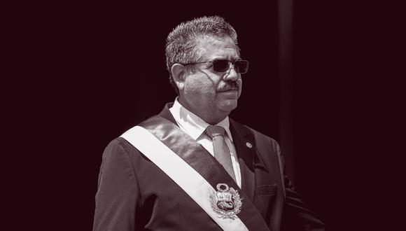 Según la encuesta nacional urbano-rural de El Comercio-Ipsos, el 63% de entrevistados considera a Manuel Merino de Lama como el personaje negativo del 2020. (Foto: Presidencia / El Comercio)