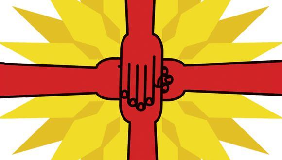 """""""Fueron precisamente ellos quienes elaboraron la idea de una economía social de mercado, un modelo de desarrollo del Estado de bienestar, luego acogido por los socialdemócratas"""". (Ilustración: Víctor Aguilar Rua)"""