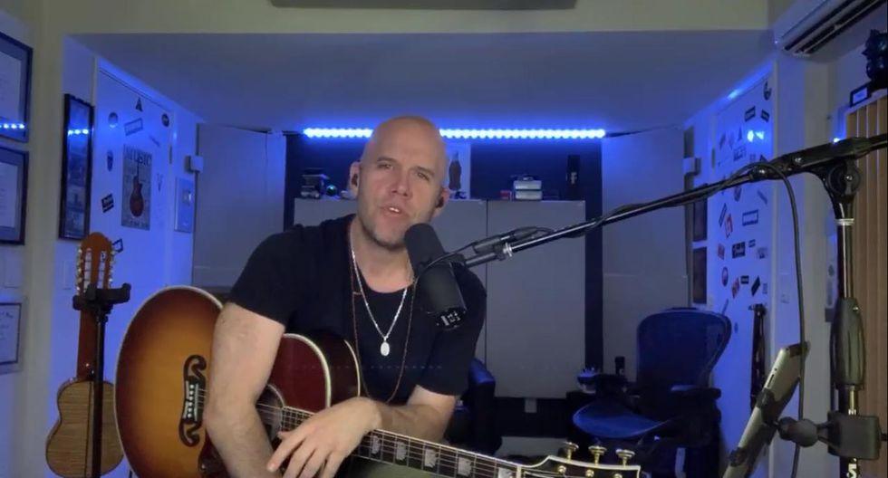 Gianmarco canta en vivo para sus seguidores en cuarentena. (YouTube)