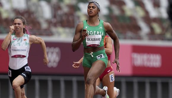 La nigeriana Blessing Okagbare dio positivo en doping en los Juegos Olímpicos | Foto: Tokio 2020.