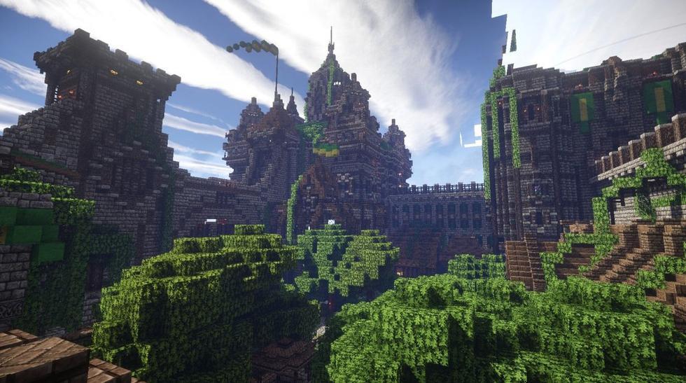 """10 increíbles estructuras hechas en """"Minecraft"""" (FOTOS) - 1"""