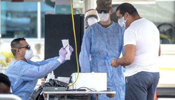 Las infecciones en Estados Unidos se han acelerado rápidamente desde que el primer caso fue reportado en el 21 de enero. (Foto: EFE)