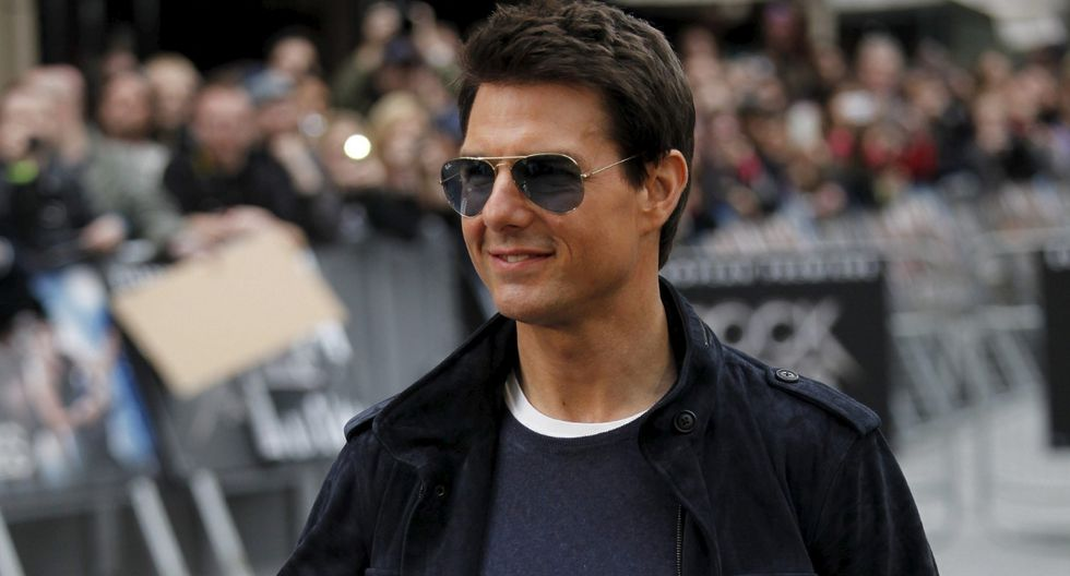 """Tom Cruise reveló que estas escenas son aquellas que """"no grabas muchas"""" por lo que trata que sean perfectas.(Foto: EFE)"""