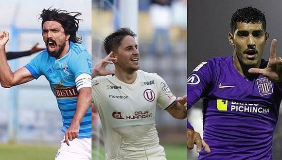 Alianza, Universitario y Sporting Cristal luchan por ganar el Torneo Clausura.