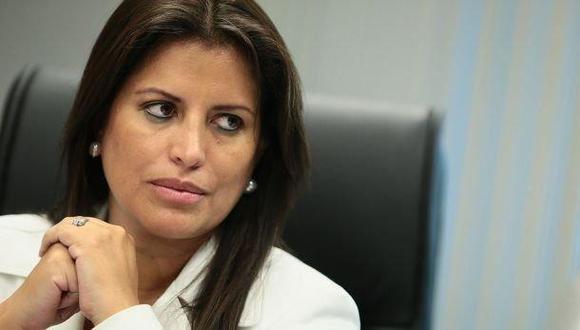 Carmen Omonte es la candidata de Alianza para el Progreso a la vicepresidencia de la República. (Foto: César Campos / GEC)