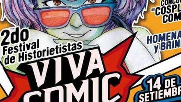 Segundo Festival de historietistas en Lima el 14 de septiembre