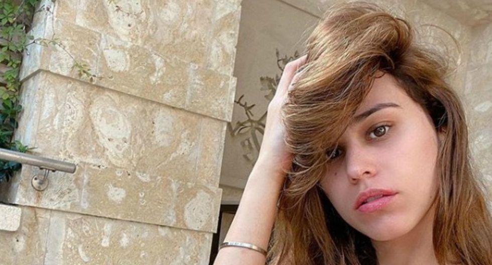 """La conductora, conocida como """"la chica del clima"""", sorprendió a sus seguidores al compartir una foto de su pasado que demuestra cómo ha cambiado su figura. (Foto: Instagram/Yanet García)"""