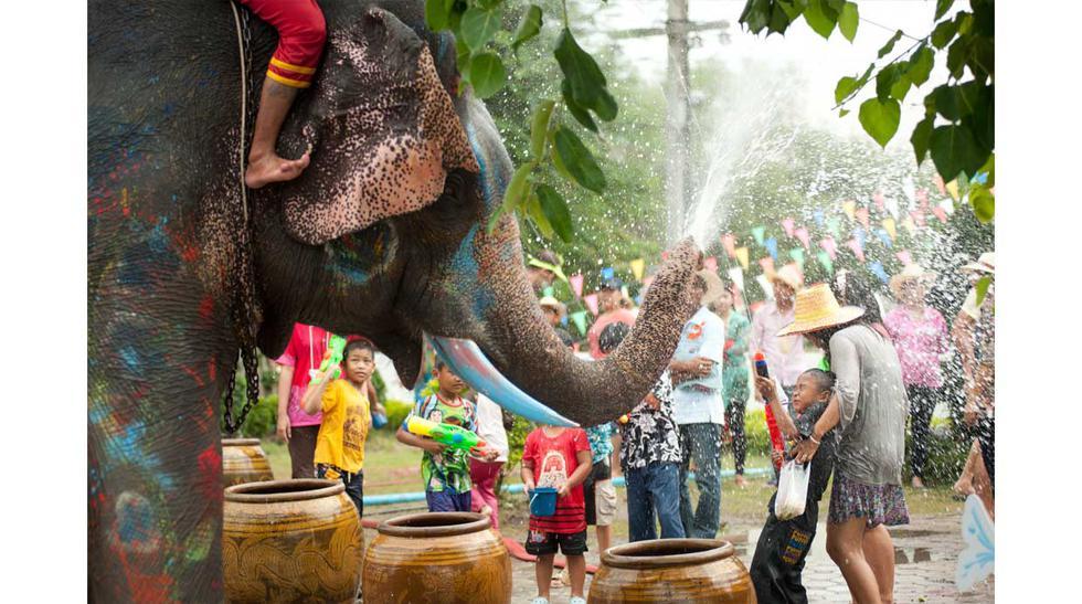 Songkran, el festival budista que se convierte en un carnaval  - 3