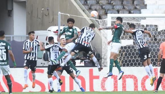 Santos y Palmeiras se ven las caras en la final de la Copa Libertadores 2020   Foto: @SantosFC