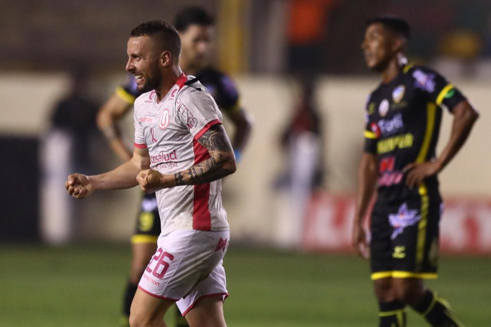 Universitario venció 2-0 a Sport Rosario en el Estadio Monumental por la novena jornada del Torneo Clausura. (Foto: Daniel Apuy / El Comercio)