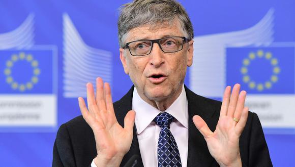 En qué consistió el simulacro de pandemia que Bill Gates promovió en el 2019. Foto: AFP / EMMANUEL DUNAND