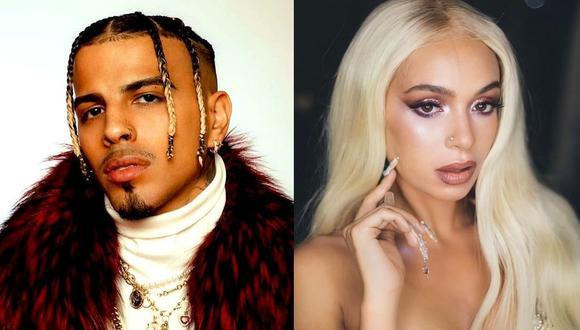 """Rauw Alejandro colabora con la española Bad Gyal en el remix de """"Zorra"""". (Foto: @rauwalejandro/@badgyalba)"""