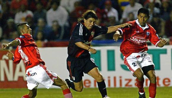 Marcelo Gallardo perdió la final de la Copa Sudamericana 2003 contra Cienciano. (Foto: USI)