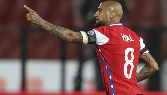 Vidal definió el encuentro entre los 20 y 35 minutos del primer tiempo. (Foto: AFP)