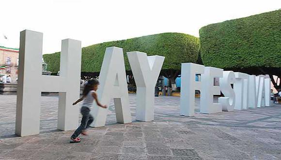 Imagen del Hay Festival celebrado en la ciudad mexicana de Querétaro, cuya edición virtual permite la participación de todo el mundo. (FOTO: Daniel Mordzinski)