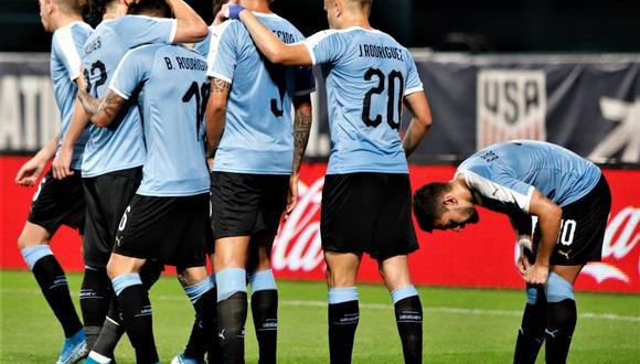 Uruguay vs. Estados Unidos: jugaron por amistoso FIFA   Foto: Uruguay