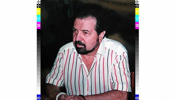 Esta foto de junio de 1995 divulgada por la Policía de Colombia muestra al jefe del cártel de Cali, Gilberto Rodríguez Orejuela, quien junto con su hermano Miguel fueron condenados a 10 y nueve años de prisión respectivamente por tráfico de drogas. (HO / AFP).