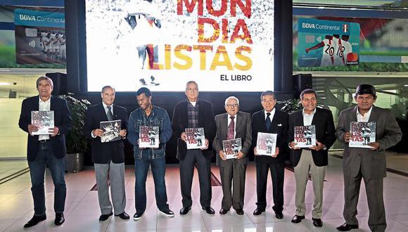 Germán Leguía, Cachito Ramírez, Julio César Uribe, Otorino Sartor, doctor Darío Gonzales, doctor Jorge Alva, Héctor Chumpitaz, Hugo Sotil.