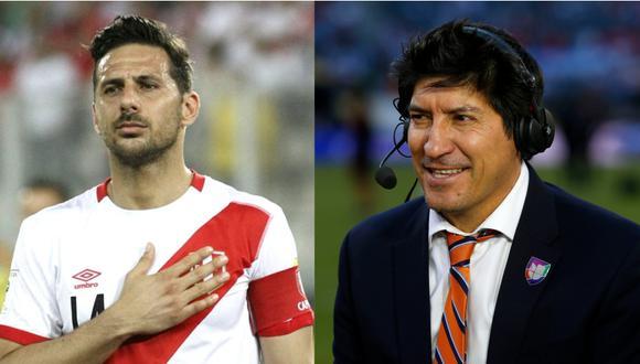 Claudio Pizarro superó la valla de los 20 goles con la selección peruana; Iván Zamorano hoy es comentarista deportivo. (Foto: AFP)