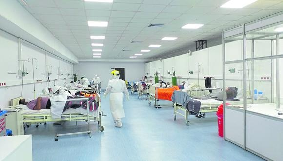 En las próximas semanas se tiene previsto implementar 300 camas UCI. (Foto: GEC)